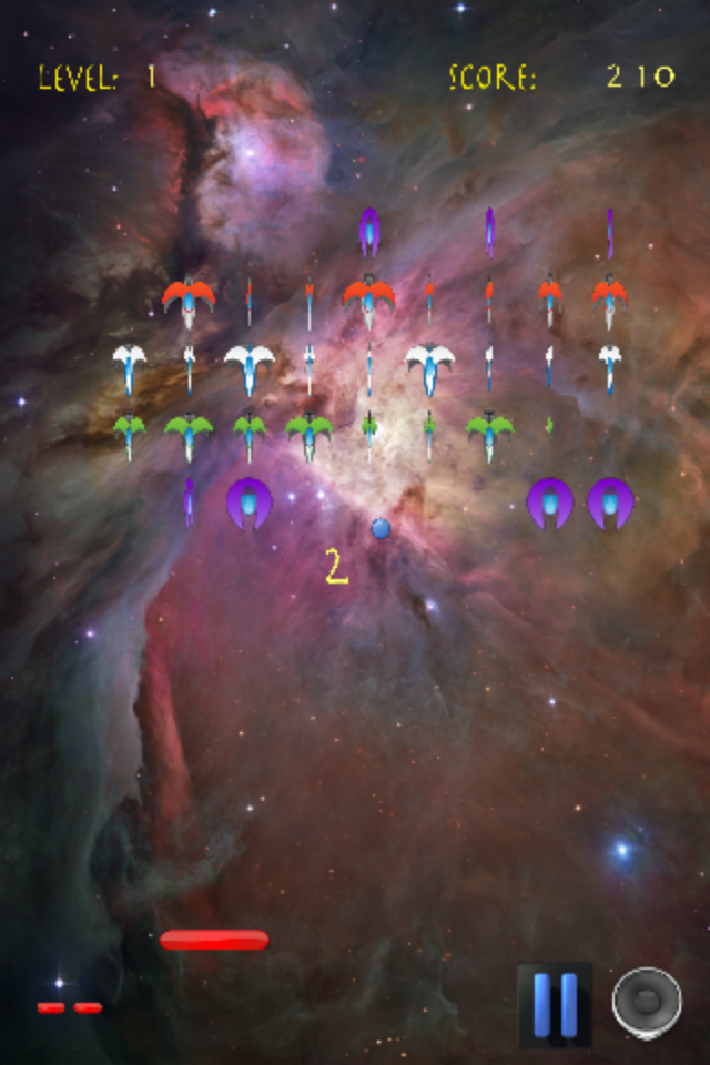 Screenshot Pong-N-Vaders